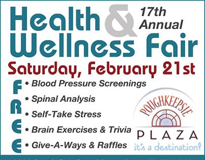Health & Wellness Fair Animated Ad