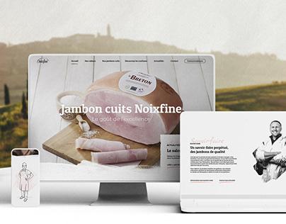 NOIXFINE - Branding / UX-UI Design / Illustration