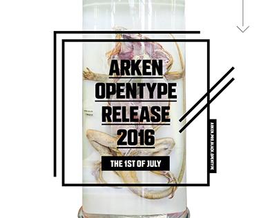 ARKEN PRO BLACK OPENTYPE