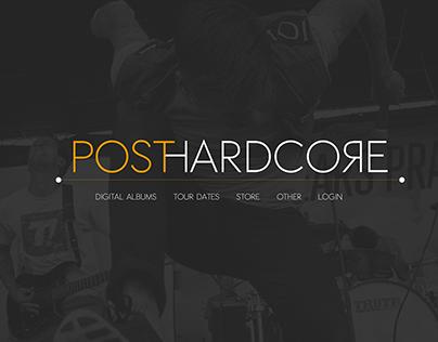 Post-hardcore Web designz