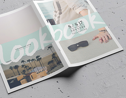 lookbook catalog template on behance. Black Bedroom Furniture Sets. Home Design Ideas