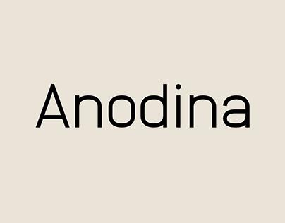 Anodina – Font Family