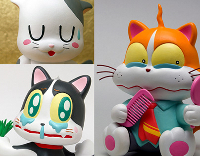 Various cats. いろんな猫。