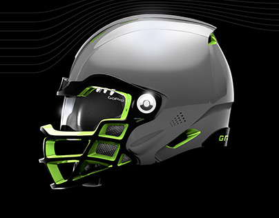 Future Football Helmet Design Case Study