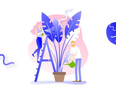 Illustrations for Design Ways Conference