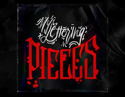 Lettering Pieces