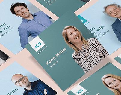 Rebranding ICS - Sinds 1955