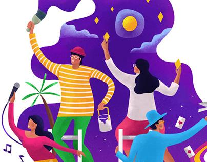 CBTL Giving Journal 2019: October Illustration