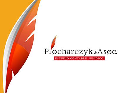 Papelería y Cartel Institucional Estudio Plocharczyk