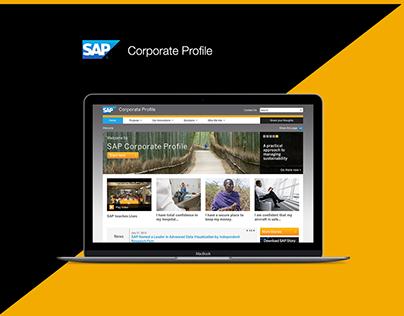 SAP-Corporate Profile