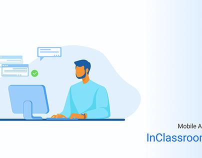 InClassroom mobile app design