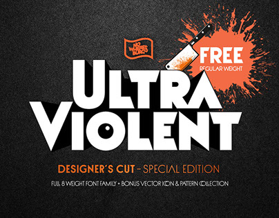 NWB Ultraviolent – Type Family