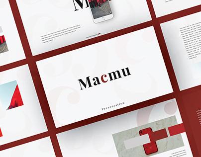 Macmu Presentation Template