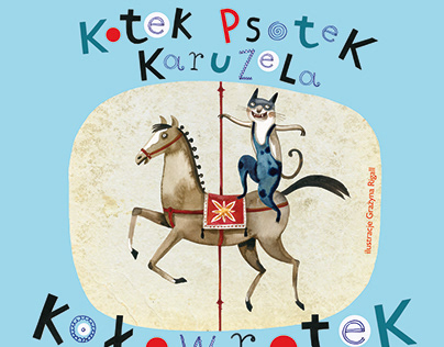 illustrations for the book Kotek Psotek