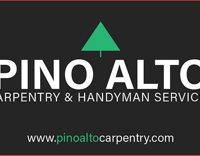 Pino Alto Carpentry Branding