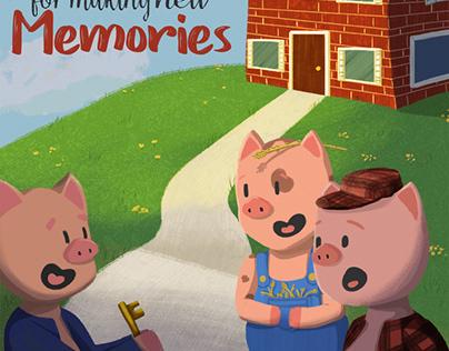 Three Lil Pigs