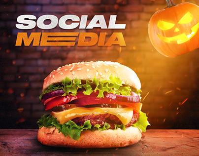 Social Media - Burguer Manipulation