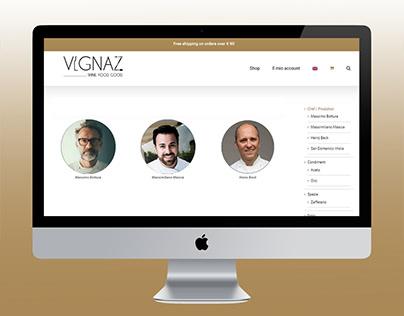 Vignaz: web-ecommerce