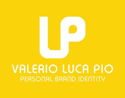 Personal brand identity - Valerio Luca Pio