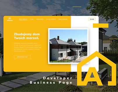 aHouse Developer Business Website