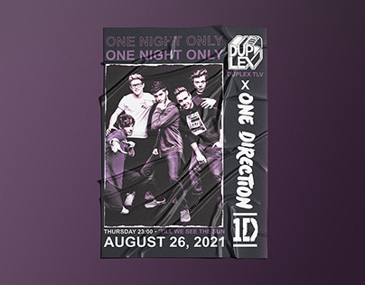 Night Club 'One Direction' party poster