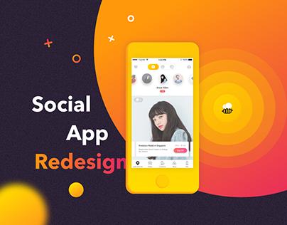 Beetalk Redesign | Social App Redesign | UI/UX