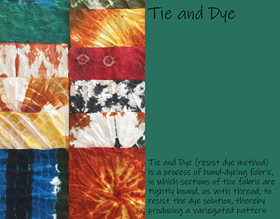Tie and Dye