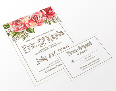 Wedding Design & Illustration