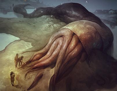 Some Lovecraft creatures