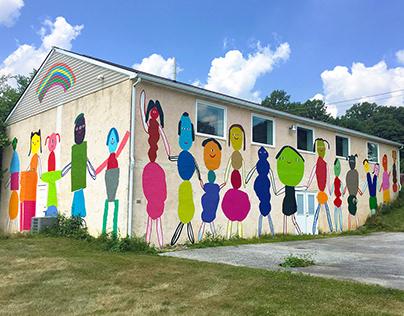 Mural for Street Road Artist Space
