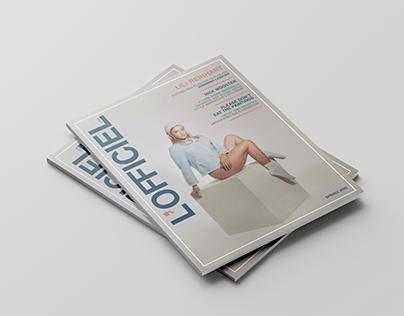 Publication Redesign: L'Officiel USA