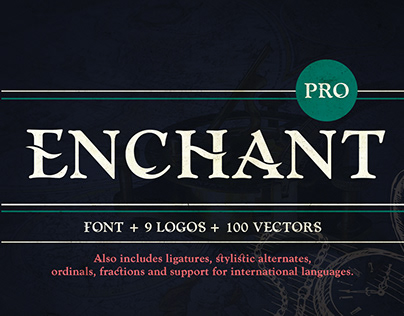 Enchant Font and Extras