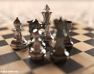 My 3d chess modeling