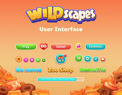 Wildscapes User Interface