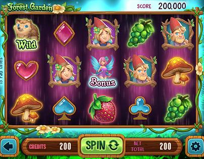 Slot game : Forest Garden