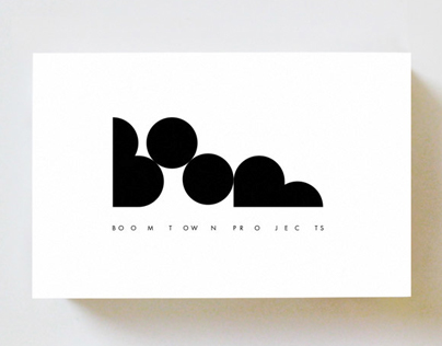 Boom Town Projects – Brand Identity