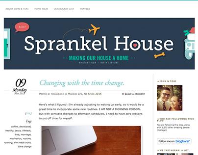 Sprankel House Blog