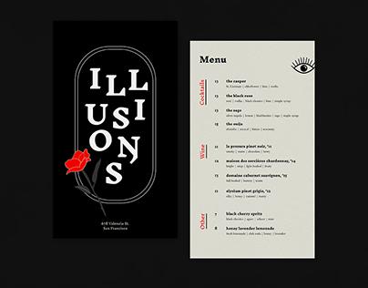 Illusions   Cocktails & Spirits