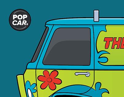 Cartoon Classics - POP CARs (5-10)