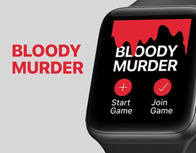 Bloody Murder Apple Watch App