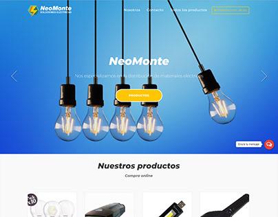 Sitio oficial Neomontesolucioléctricas