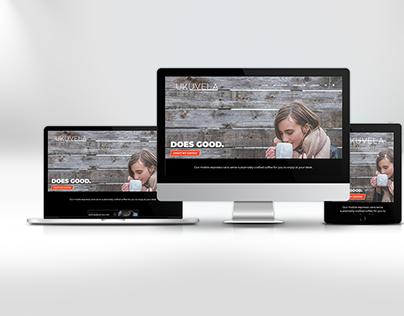 Website Design - Ukuvela Coffee