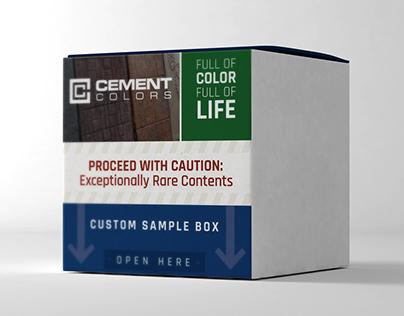 Packaging Label - Sample Box
