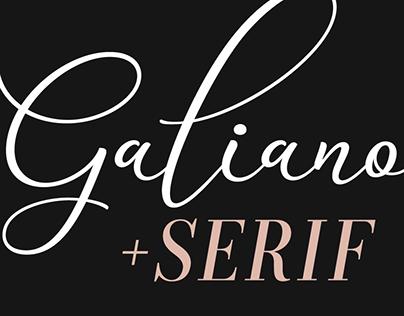 Galiano Font Family