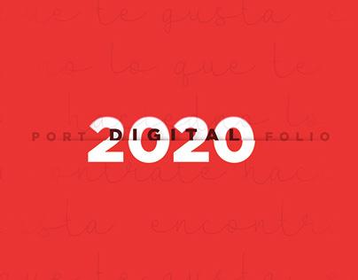PORTFOLIO 2020 - DIGITAL