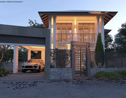 Proposed House-Gampaha-SL