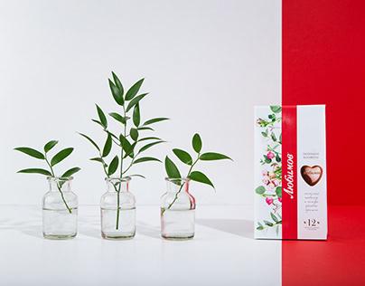 A Spring Image for Lyubimov Chocolates