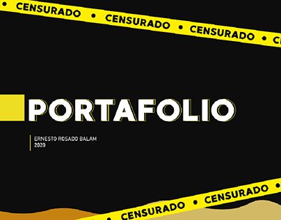 PORTAFOLIO 2020 ERNESTO ROSADO