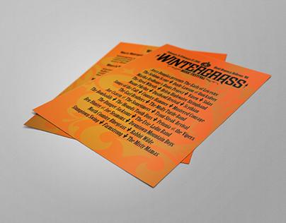 Wintergrass Handbill