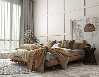 Rustic Bed Room 🤩